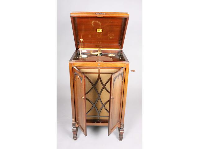 A HMV model 194 floorstanding gramophone