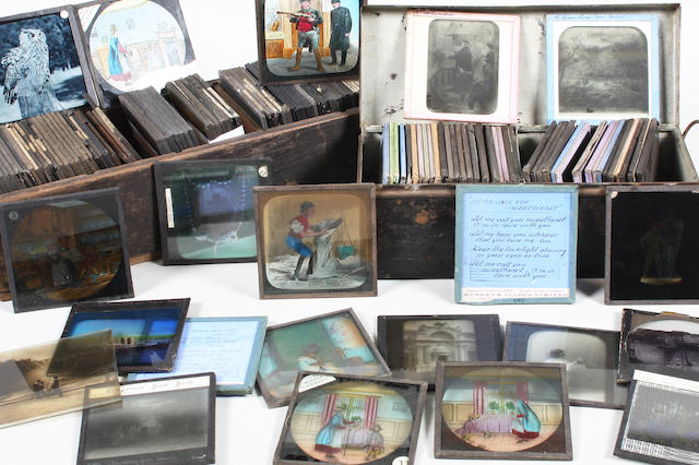 Magic lantern slides
