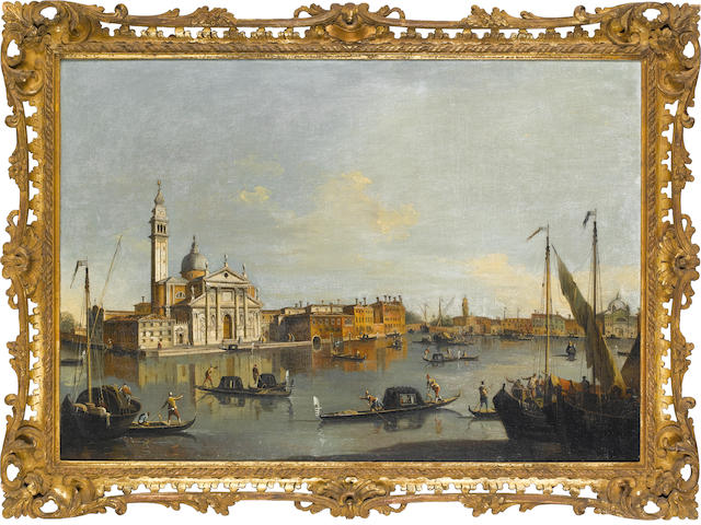 Pair of Venetian scenes attributed to Jacopo Marieschi