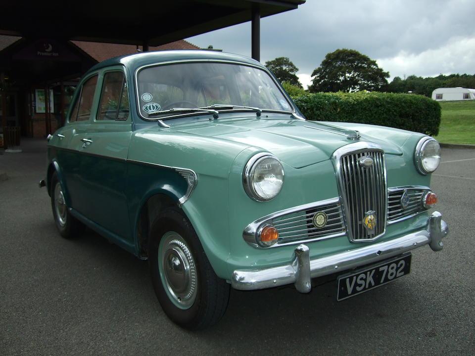 1957 Wolseley 1500 Mk1 Saloon  Chassis no. WA1-L/4144 Engine no. 15WA-U-L-4144