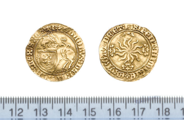Scotland, James IV, 1488-1513, Unicorn, 3.9g, type I, unicorn left, crown of three lis around neck,