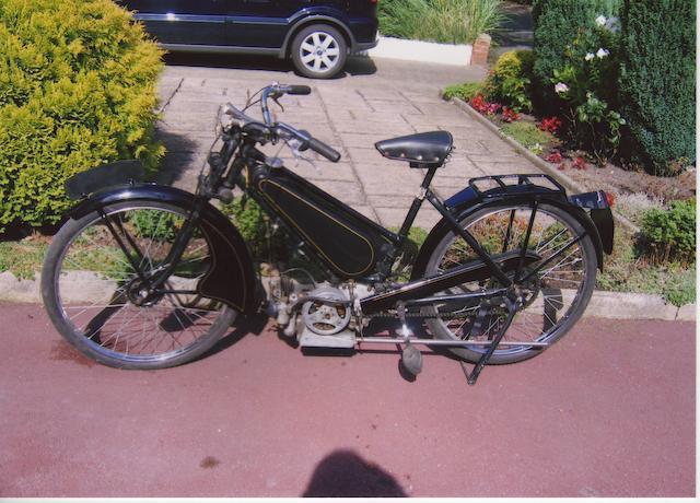 1946 Excelsior 98cc Autobyk  Frame no. SABTVRO3937038084 (see text) Engine no. XX2717