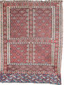 A Yomut ensi West Turkestan, 5 ft 7 in x 4 ft 3 in (170 x 129 cm)