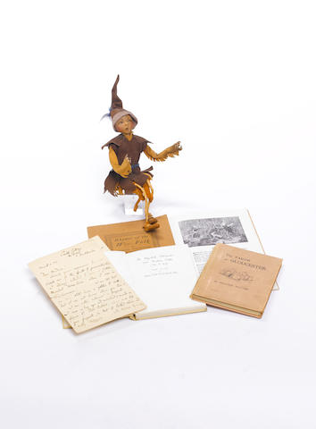 "POTTER (BEATRIX) Archive of material relating to Beatrix Potter and Todhunter sisters, makers of ""We"