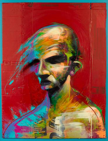 Adam Neate 'Red Portrait'