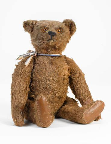 Rare cinnamon Steiff Teddy bear, 1920's
