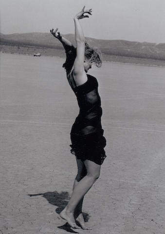 Peter Lindbergh (German, born 1944) 'Nastassja Kinski, El Mirage, California', 1995