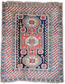 A Shirvan rug East Caucasus, 4 ft 3 in x 3 ft 5 in (129 x 103 cm)