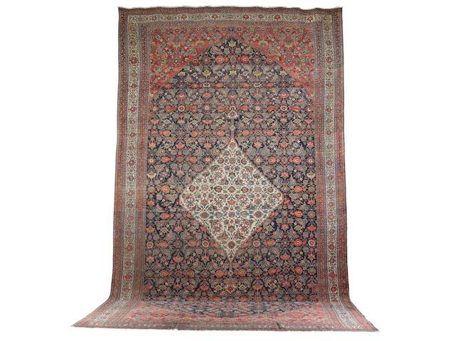 A Bidjar carpet Parsian/Kurdistan 24 ft 6 in x 14 ft (745 x 426 cm)