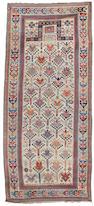 A Shirvan prayer rug East Caucasus, 6 ft 2 in x 2 ft 9 in (187 x 84 cm)minor restoration