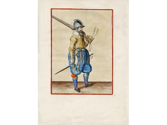 GHEYN (JACOB DE) Wapenhandelinghe van Roers, Musquetten ende Spiessen