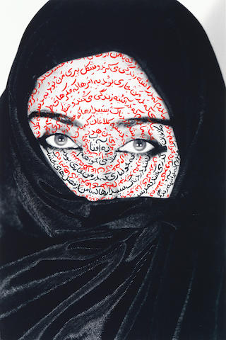 Shirin Neshat (Iran, b. 1957) I am its secret