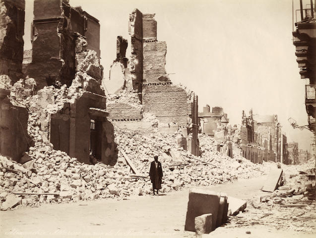 EGYPT  Twenty four views after the Bombardment of Alexandria by Felix Bonfils, c.1882