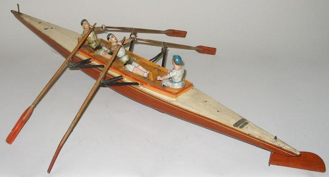 Bing c/w Coxed double scull boat