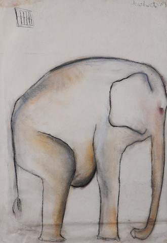 Patricia Douthwaite (British, 1934-2002) Elephant