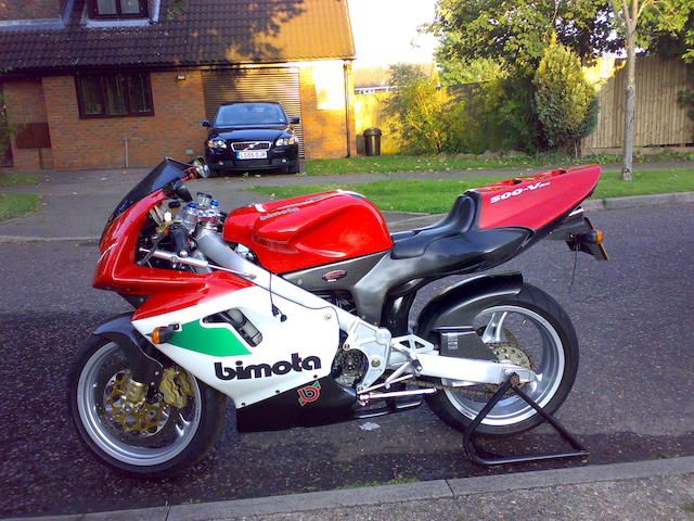 One owner, 1,164 miles from new,1997 Bimota 500cc V-Due  Frame no. ZESVT5000WR000114 Engine no. ZES499AEV00125