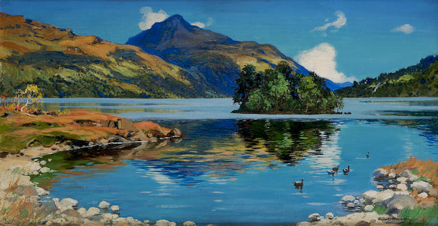 Robert Houston, RSW (British, 1891-1942) Loch Lomond