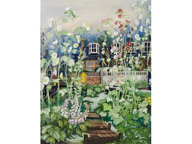 Avril Paton Back garden, Clouston Street