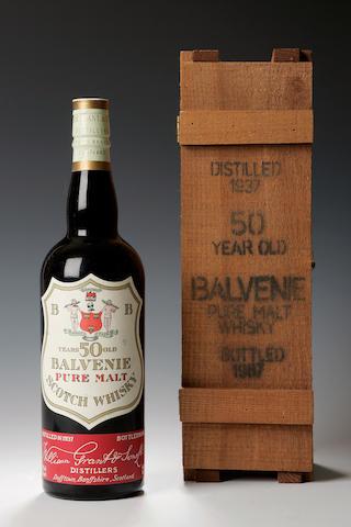 The Balvenie -50 year old -1937