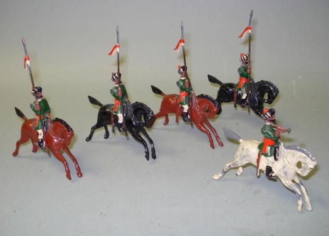 Britains set 66, 1st Bombay Lancers 5