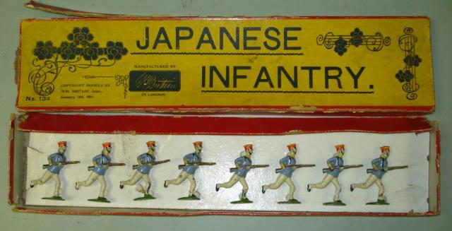 Britains set 134, Japanese Infantry 8