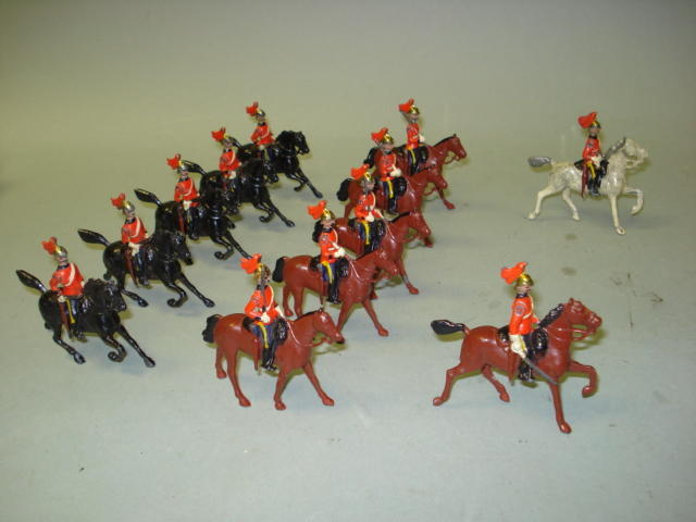 Britains small size set 57, First King's Dragoon Guards 12