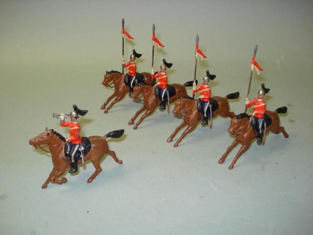 Britains set 44, 2nd Dragoon Guards 5