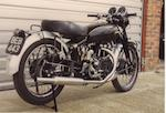 1949 Vincent 998cc Black Shadow  Frame no. BC-4425B Engine no. F10/AB/1B-2525