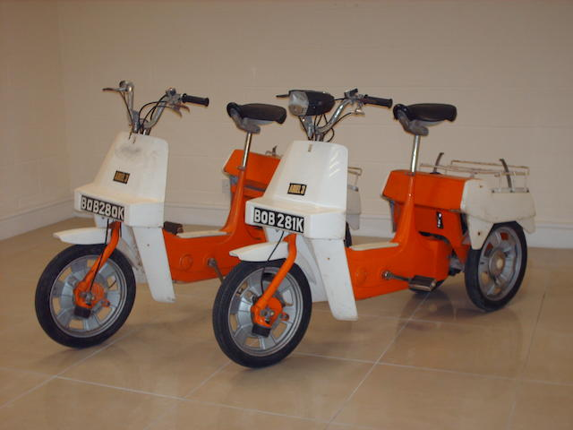 1972 Ariel 3 Moped  Frame no. 007362