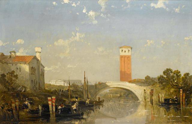 David Roberts, RA (British, 1796-1864) Santa Fosci, Venice