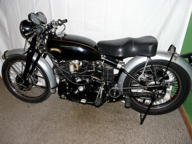 1949 Vincent 998cc Black Shadow  Frame no. BC-4425B Engine no. F10/AB/1B-2525