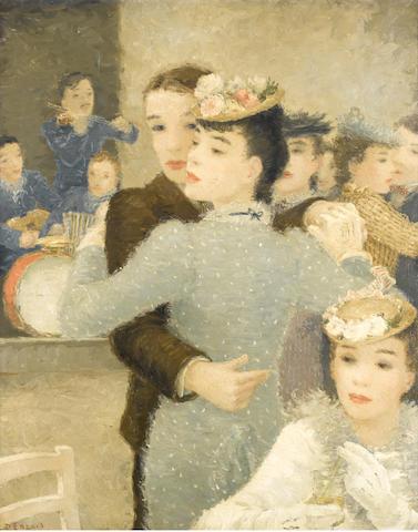 Dietz Edzard (German, 1893-1963) Le bal musette
