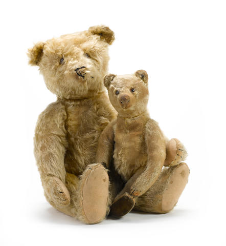 Two Steiff Teddy bears, German 1920's 2