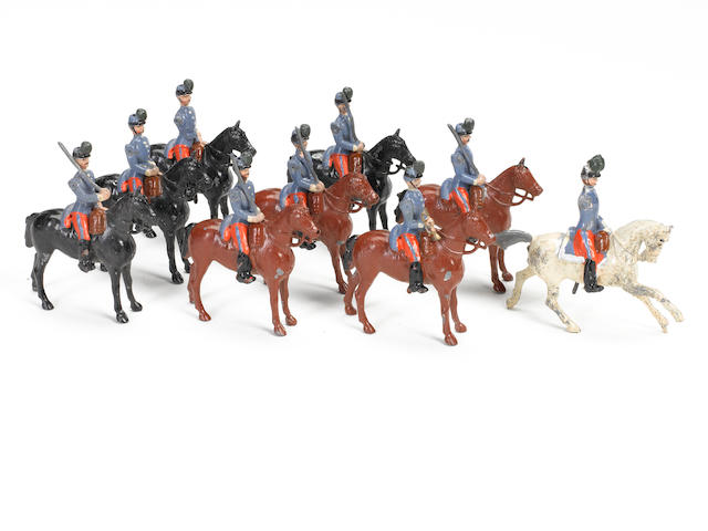 BRITAINS PARIS OFFICE French Chasseurs a Cheval at the halt 9
