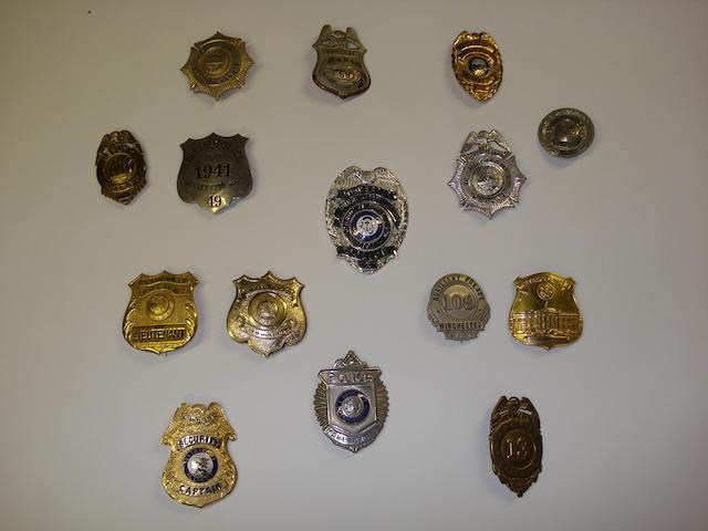 U.S. Police Badges