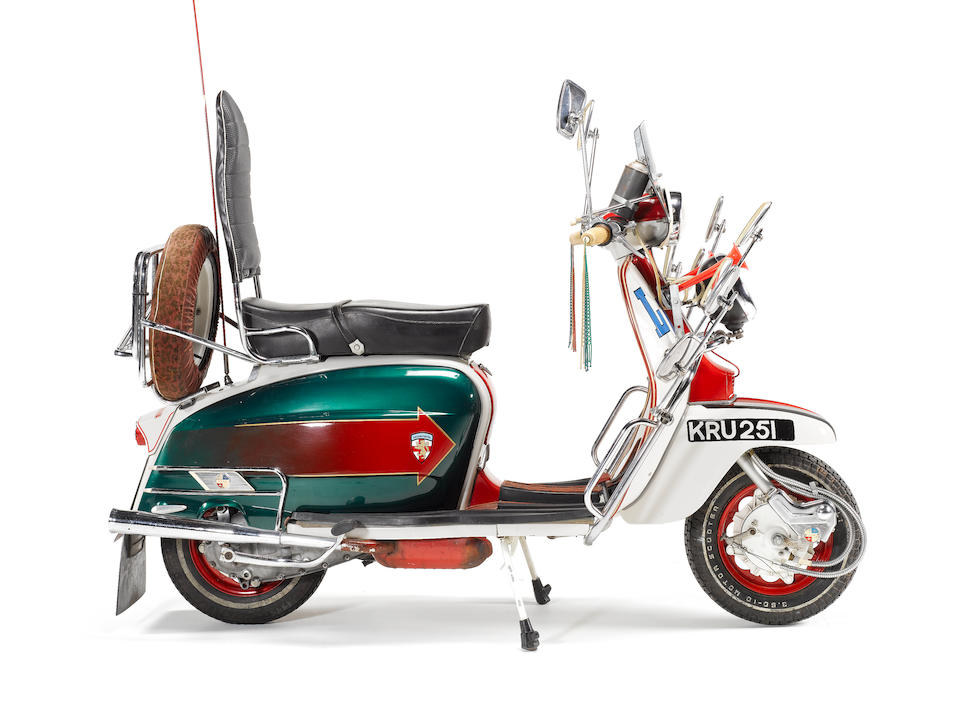1967 Lambretta Li150 Series 3 Scooter,