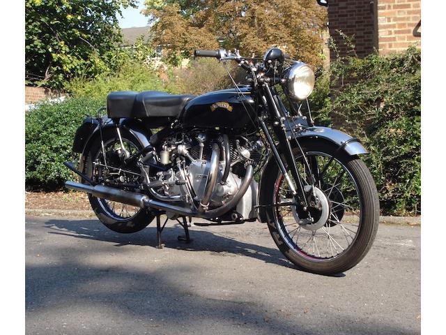 1952 Vincent 998cc Rapide  Frame no. RC/11291/C Engine no. F10AB/1/9391