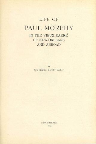 Morphy-Voitier, Regina, Life of Paul Morphy
