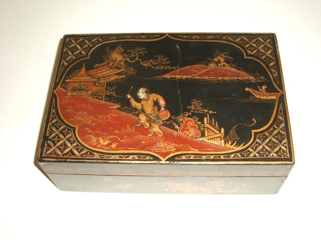 An attractive Mah Jong set, Shaghai, circa 1920,