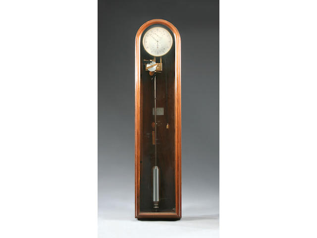A modern walnut-cased wall regulator Zenith, No. 245