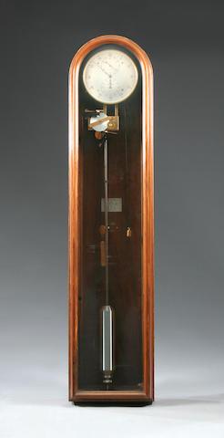 A modern walnut-cased wall regulator Zenith, No. 245