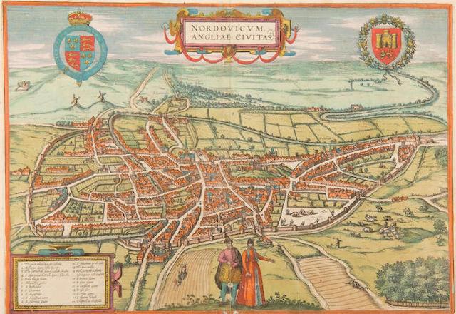 Georg Braun (1541-1590) & Frans Hogenberg (1535-1590)