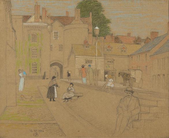 Joseph Edward Southall (British, 1861-1944) Ludlow