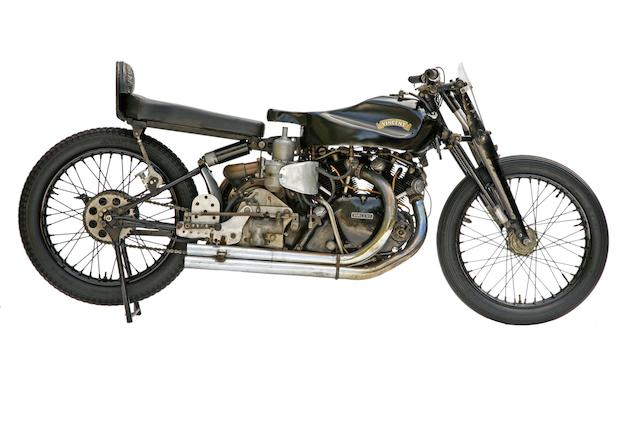 Bonhams : Reg Dearden\'s Supercharged Vincent,1949 Vincent Black ...