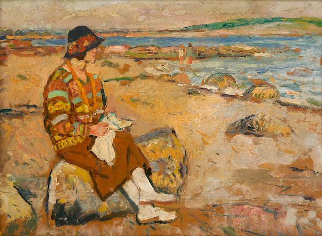 George Leslie Hunter (British, 1877-1931) Largo Bay
