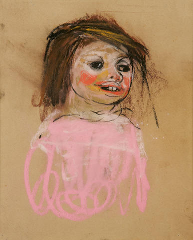 Joan Kathleen Harding Eardley (British, 1921-1963) Pink jumper