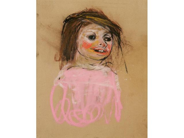 Joan Kathleen Harding Eardley (British, 1921-1963) 'Pink jumper'