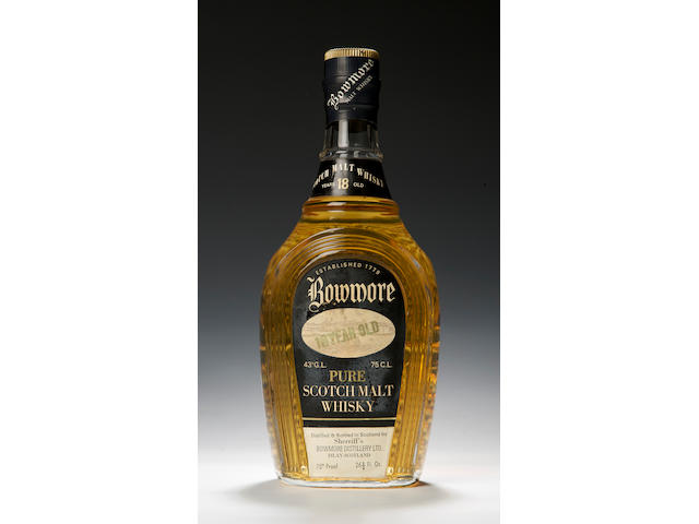Sherriff's Bowmore-18 year old