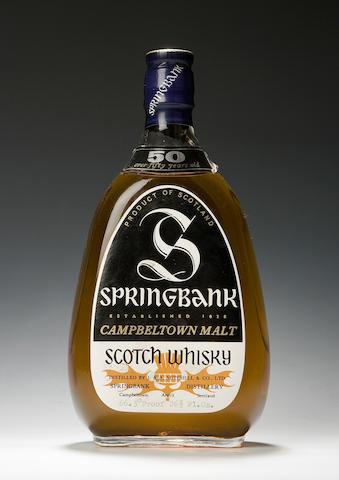 Springbank -50 year old