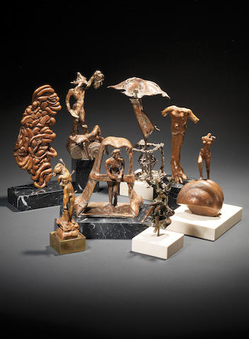 The first edition of four of the Salvador Dali 'Clot' Collection. This lot comprises of 44 sculptures to be sold as one lot.